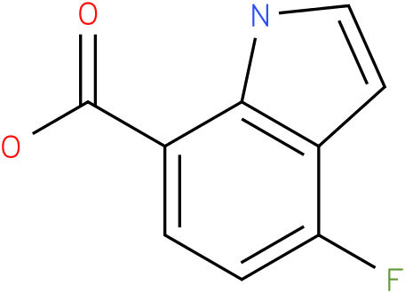 4-fluoro-1H-indole-7-carboxylic acid