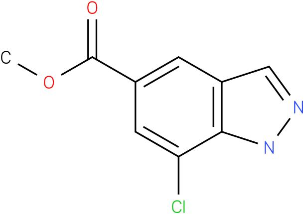 methyl 7-chloro-1H-indazole-5-carboxylate