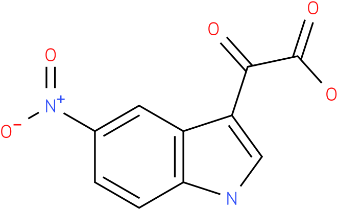 2-(5-nitro-1H-indol-3-yl)-2-oxoacetic acid