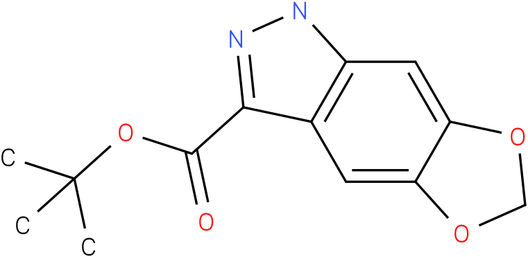 tert-butyl 1H-[1,3]dioxolo[4,5-f]indazole-3-carboxylate