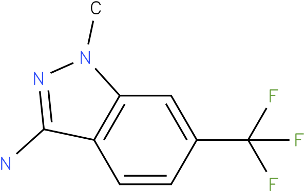 1-methyl-6-(trifluoromethyl)-1H-indazol-3-amine