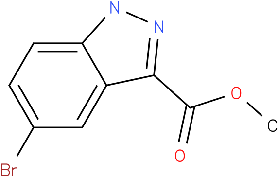 METHYL 5-BROMO-1H-INDAZOLE-3-CARBOXYLATE