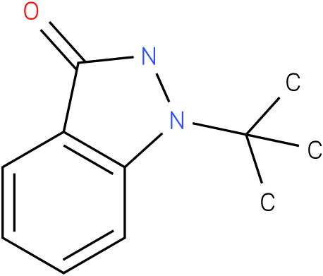 1-tert-butyl-1H-indazol-3(2H)-one