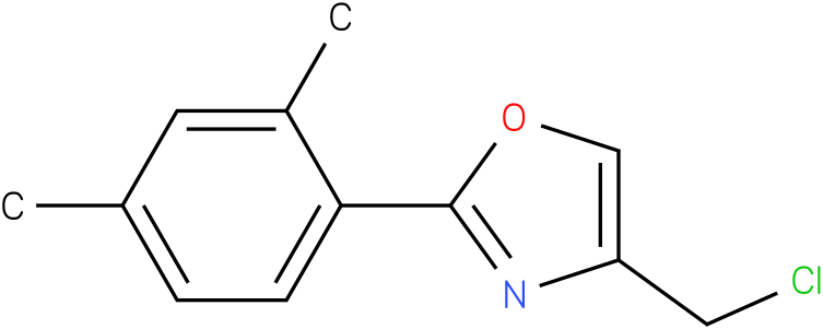 4-(CHLOROMETHYL)-2-(2,4-DIMETHYLPHENYL)-1,3-OXAZOLE