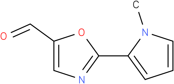 2-(1-methyl-1H-pyrrol-2-yl)oxazole-5-carbaldehyde