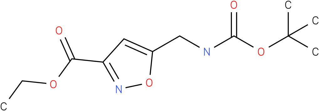 ETHYL 5-(N-BOC)AMINOMETHYLISOXAZOLE-3-CARBOXYLATE