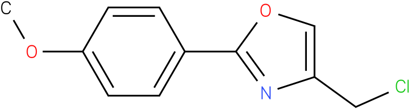 4-(CHLOROMETHYL)-2-(4-METHOXYPHENYL)-1,3-OXAZOLE