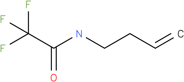 N-(but-3-enyl)-2,2,2-trifluoroacetamide
