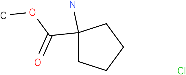 Methyl 1-amino-1-cyclopentanecarboxylate hydrochloride