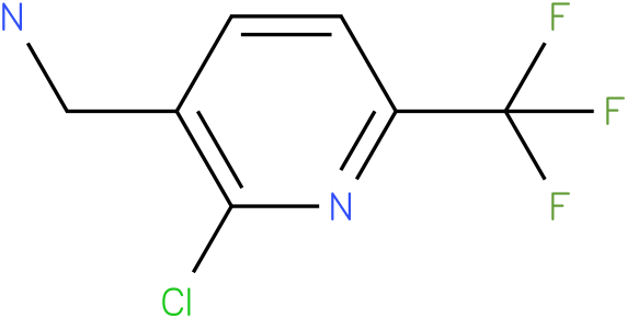 (2-chloro-6-(trifluoromethyl)pyridin-3-yl)methanamine