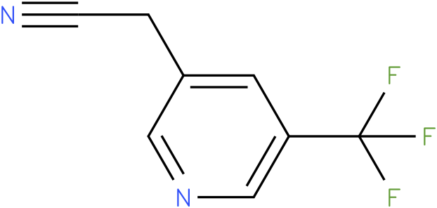 2-(5-(trifluoromethyl)pyridin-3-yl)acetonitrile