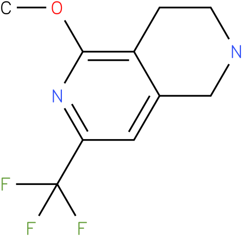 5-Methoxy-7-trifluoromethyl-1,2,3,4-tetrahydro-[2,6]naphthyridine
