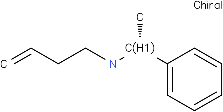 (R)-N-(1-phenylethyl)but-3-en-1-amine