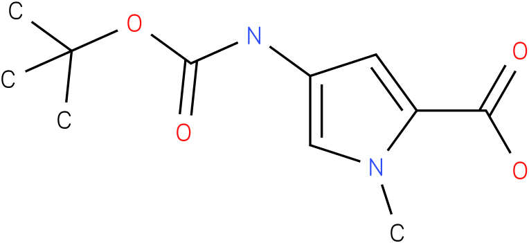 4-TERT-BUTOXYCARBONYLAMINO-1-METHYL-1H-PYRROLE-2-CARBOXYLIC ACID