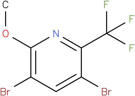3,5-Dibromo-2-methoxy-6-trifluoromethyl-pyridine