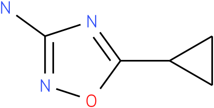 5-cyclopropyl-1,2,4-oxadiazol-3-amine