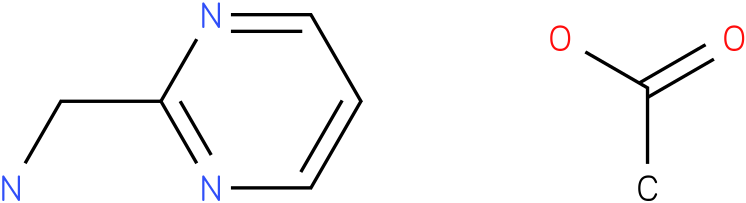 pyrimidin-2-ylmethanamine acetic acid salt