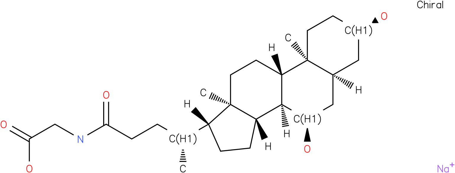 GLYCOCHENODEOXYCHOLIC ACID SODIUM SALT