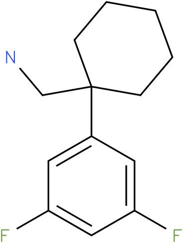 (1-(3,5-difluorophenyl)cyclohexyl)methanamine
