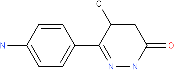 6-(4-Amino-phenyl)-5-methyl-4,5-dihydro-2H-pyridazin-3-one,