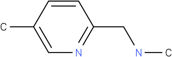 N-methyl(5-methylpyridin-2-yl)methanamine