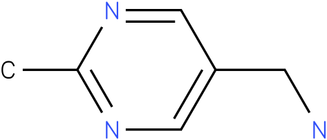 C-(2-Methyl-pyrimidin-5-yl)-methylamine
