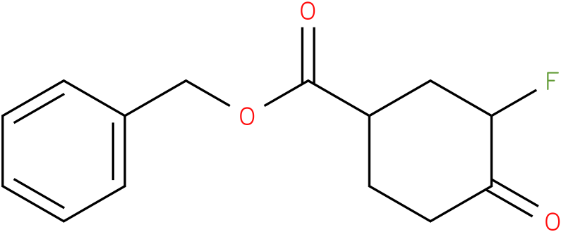 benzyl 3-fluoro-4-oxocyclohexanecarboxylate