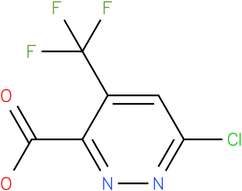 6-Chloro-4-trifluoromethyl-pyridazine-3-carboxylic acid