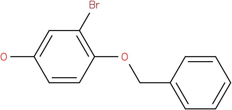 4-Benzyloxy-3-bromo-phenol