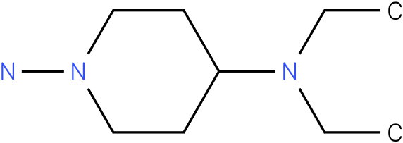 N4,N4-Diethyl-piperidine-1,4-diamine