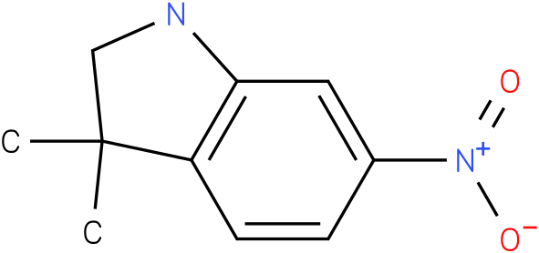 3,3-dimethyl-6-nitroindoline