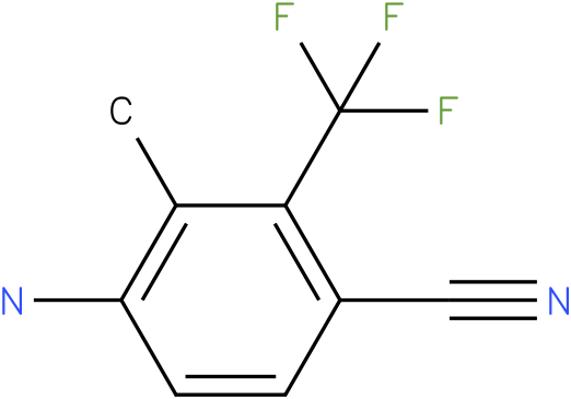 4-amino-3-methyl-2(trifluoromethyl)benzonitrile