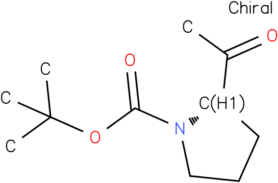 (S)-tert-butyl 2-acetylpyrrolidine-1-carboxylate