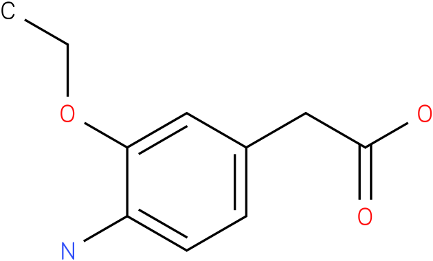 2-(4-amino-3-ethoxyphenyl)acetic acid