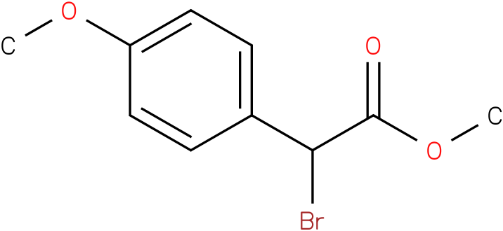 Bromo-(4-methoxy-phenyl)-acetic acid methyl ester