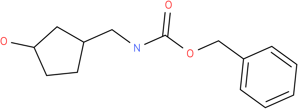 (3-Hydroxy-cyclopentylmethyl)-carbamic acid benzyl ester
