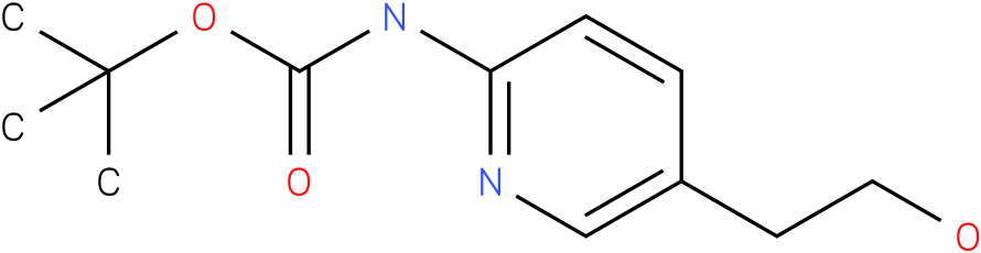 [5-(2-Hydroxy-ethyl)-pyridin-2-yl]-carbamic acid tert-butyl ester