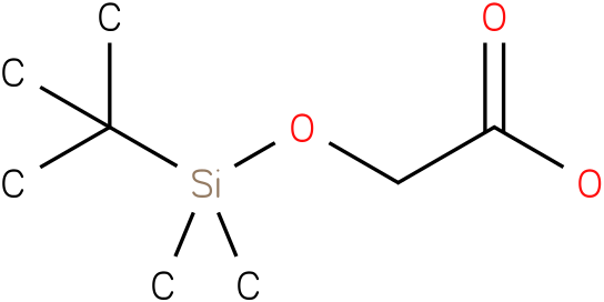2-(tert-butyldimethylsilyloxy)acetic acid
