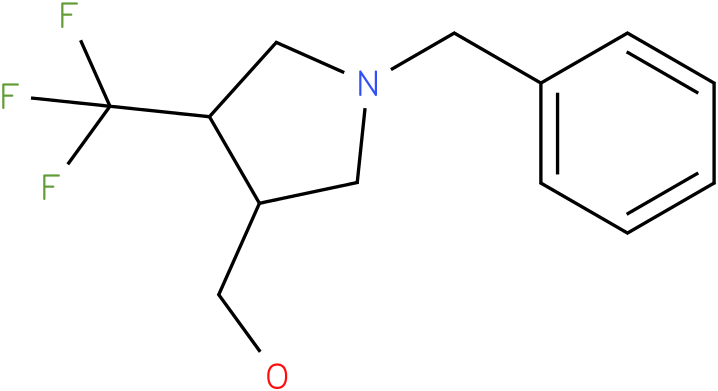 (1-Benzyl-4-trifluoromethyl-pyrrolidin-3-yl)-methanol
