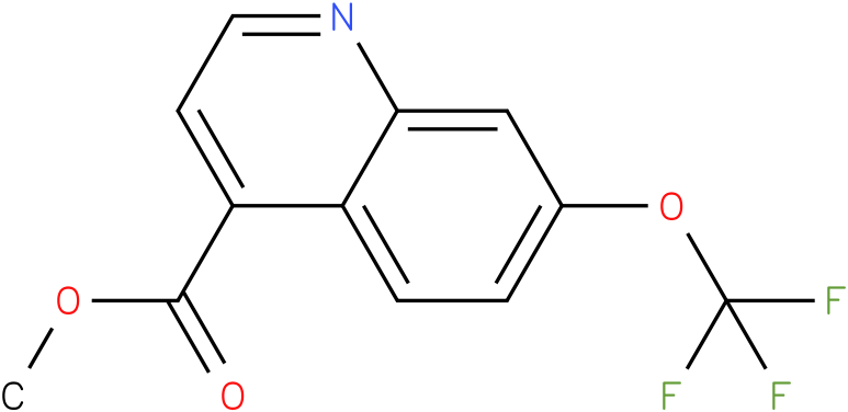7-trifluoromethoxy-quinoline-4-carboxylic acid methyl ester