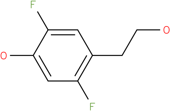 2,5-Difluoro-4-(2-hydroxy-ethyl)-phenol