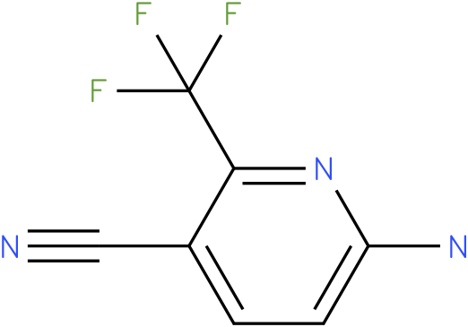6-amino-2-(trifluoromethyl)pyridine-3-carbonitrile