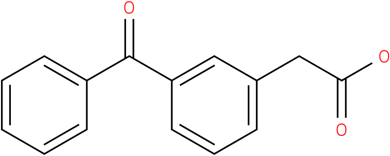 3-BENZOYLPHENYLACETIC ACID
