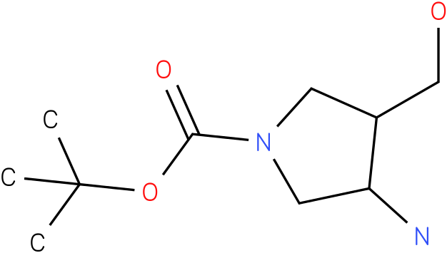 3-Amino-4-hydroxymethyl-pyrrolidine-1-carboxylic acid tert-butyl ester