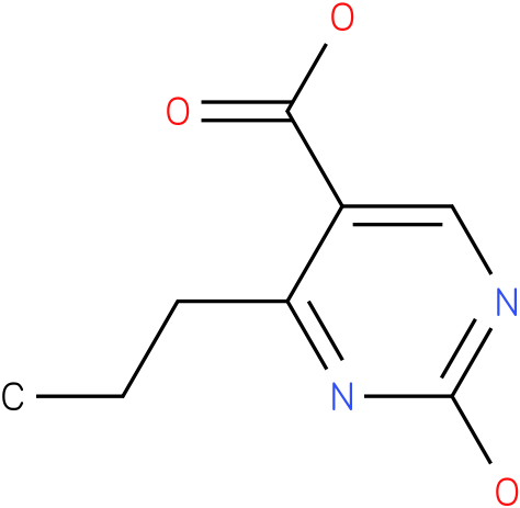 4-n-propyl-2-hydroxy-pyrimidine-5-carboxylic acid