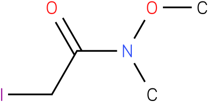 2-iodo-N-methoxy-N-methylacetamide