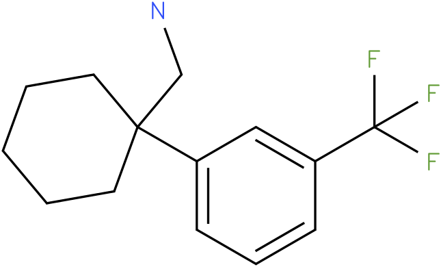 (1-(3-(trifluoromethyl)phenyl)cyclohexyl)methanamine