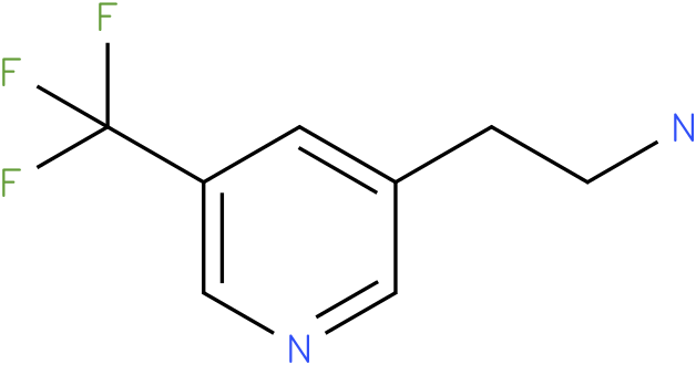 2-(5-Trifluoromethyl-pyridin-3-yl)-ethylamine