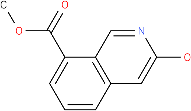 3-Hydroxy-isoquinoline-8-carboxylic acid methyl ester