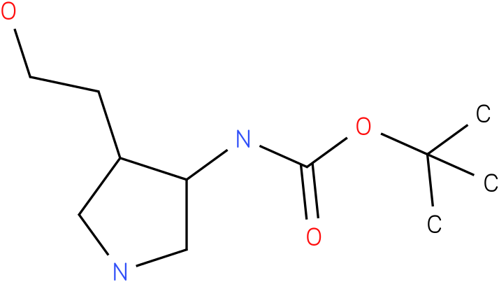 [4-(2-Hydroxy-ethyl)-pyrrolidin-3-yl]-carbamic acid tert-butyl ester